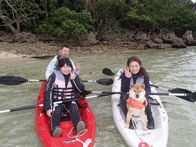 愛犬と行く無人島探検ツアーへ