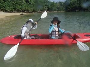 石垣島秘境をカヤックでクルージング