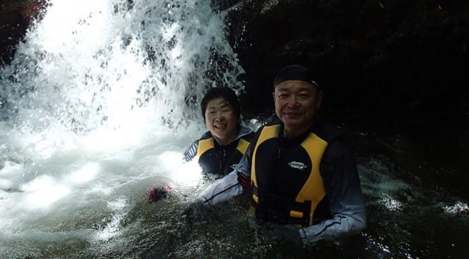 石垣島シーカヤック&青の洞窟シュノーケル探検&滝あそび